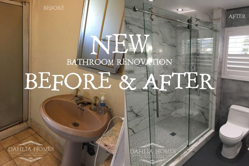 Portland Bathroom Renovation Dahlia Home Renovations Old Dingy Impressive Bathroom Remodeling Portland Set